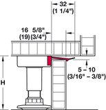 Plinthouder voor stelpoten (16mm)_13