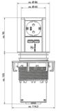 Elevator USB verzinkbaar contactdooselement_13