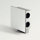 Vierkant stopcontact met USB, aluminium_13