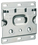Kastophangplaat voor Camar kastophangers voor onderkasten (120mm)