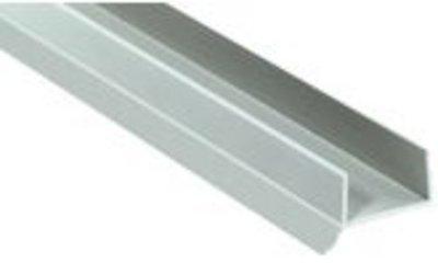 Plintprofiel met afdichtingslip voor 18/19mm, 2500mm