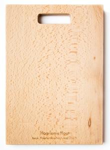 Snijplank van Nederlands hout (stadsbomen)