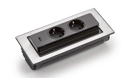 Evoline® backflip USB stopcontactelement