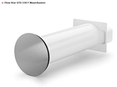 COMPAIR® Flow Star GTS 150 F muurdoorvoerunit (rechte buis) NIEUWE VERSIE