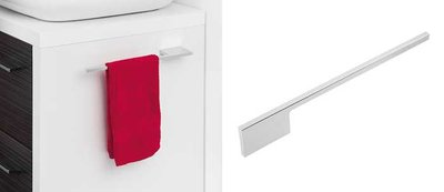 Handdoekdrager (chroom) 400mm