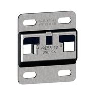 Kastophangplaat voor Camar kastophangers voor onderkasten (60mm)