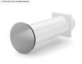 COMPAIR® Flow Star GTS 150 muurdoorvoerunit (ronde buis) NIEUWE VERSIE